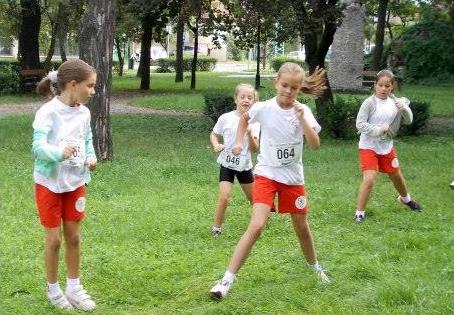 Zagyvamenti Maraton - bemelegítés